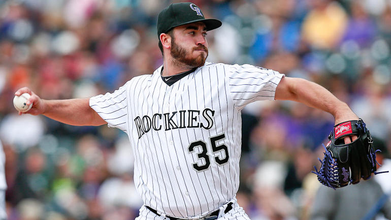 Rockies pitcher Chad Bettis is cancer free after surgery in November