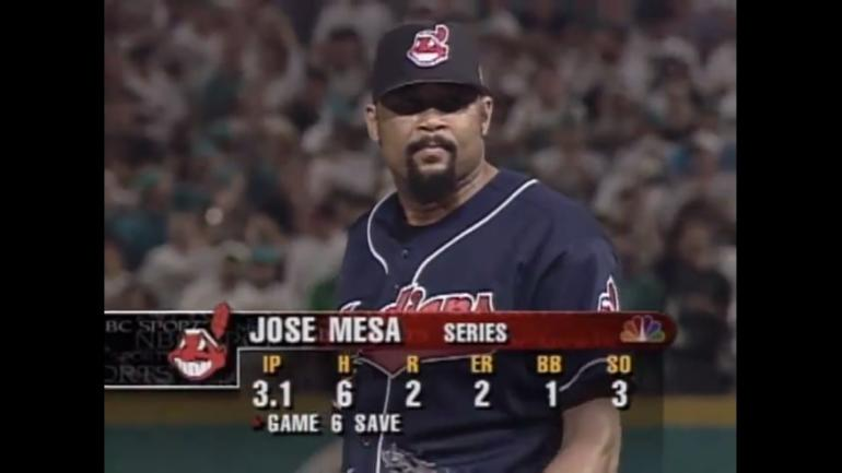LeBron James calls out Jose Mesa for blown save in Game 7 of 1997 ...