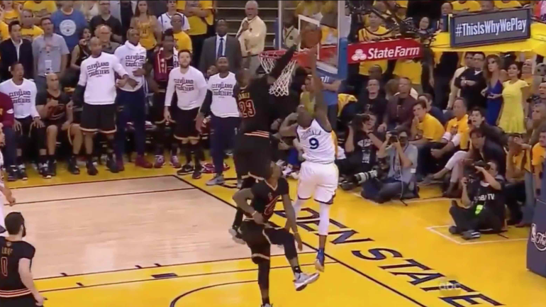 NBA Finals: Every thrilling second of LeBron James' iconic ...