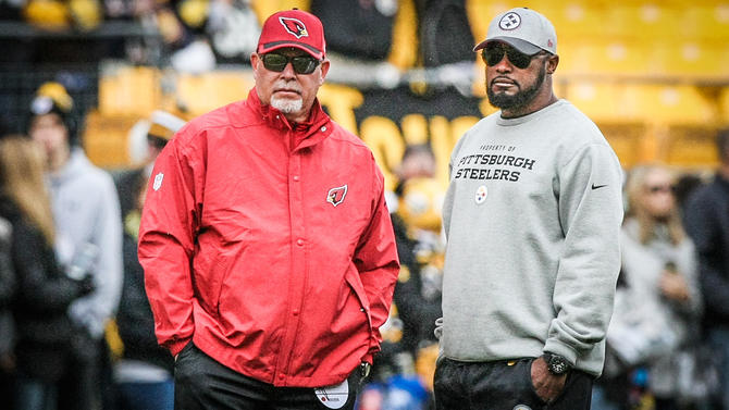 bruce arians, mike tomlin, steelers practice squad, josh mauro,
