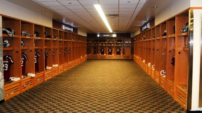 D Baseball Locker Rooms