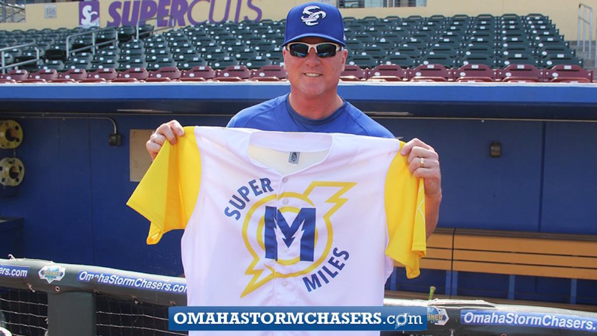 LOOK: Triple-A Omaha honors kid's cancer battle with special jerseys