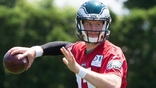 Philadelphia Eagles Not Rushing Carson Wentz Into Anything