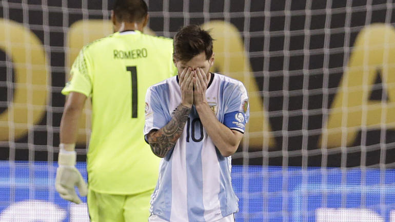 Crying Messi the lasting image of Copa America, possibly ...