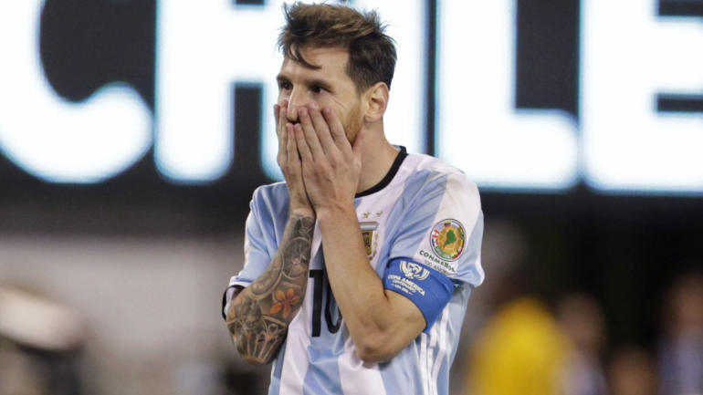 Lionel Messi Quits Argentina National Team After Another Lost Final At Copa America Cbssports Com