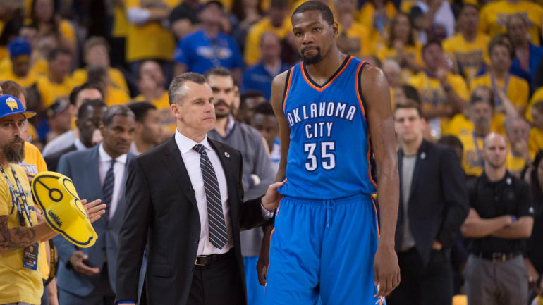 Reports: Kevin Durant's decision down to Thunder, Warriors, Celtics