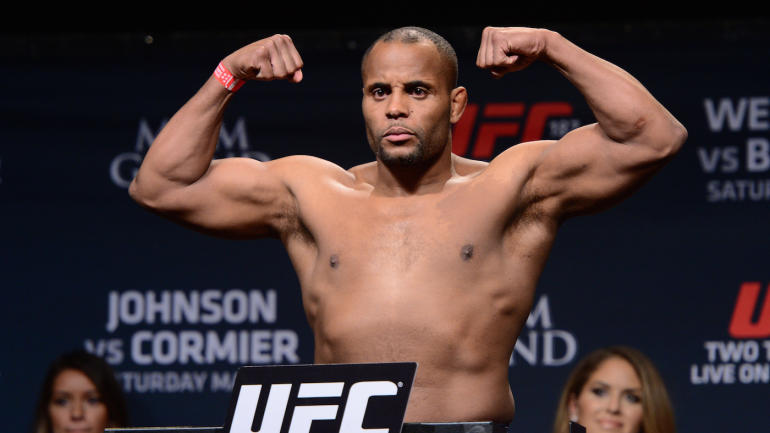 daniel cormier weigh