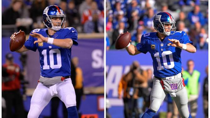 new style 35c95 2dd9a The New York Giants are making an odd uniform change for ...