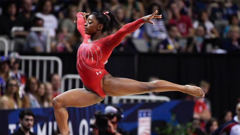 2016 Rio Olympics Biles Among Five Selected To U S Women