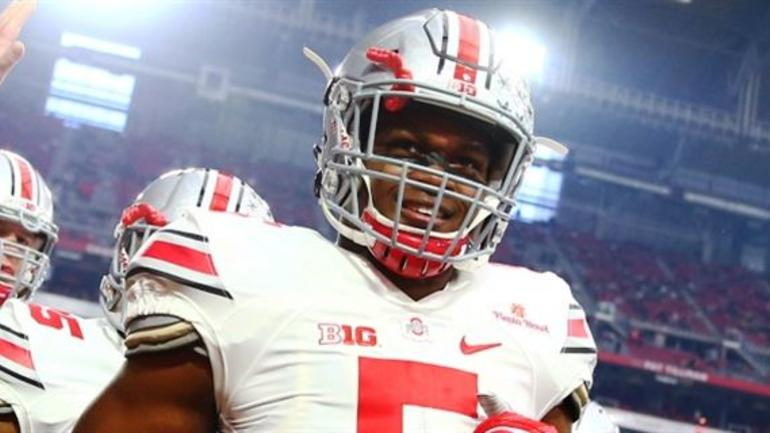 2aee57d86c1 Linebacker Raekwon McMillan earned some All-American honors last season.  But OSU defensive coordinator Luke Fickell says there is still room for him  to grow ...
