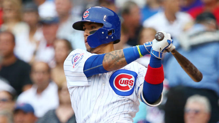 watch  cubs u0026 39  javier baez shows off the art of making a tag