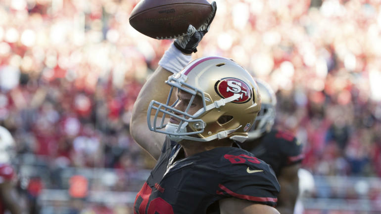 The 1-11 49ers just handed a guy with 64 career catches a $35 million extension