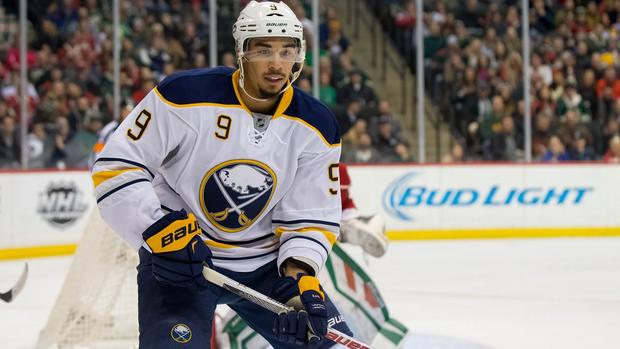 Sabres' Evander Kane charged with harassment at bar