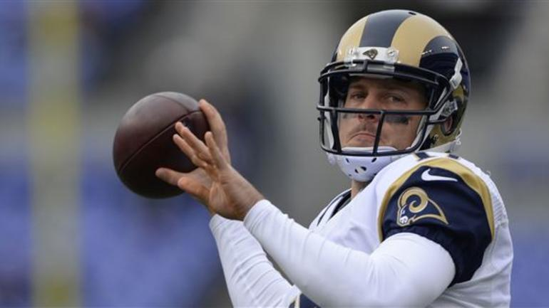 the latest c8d74 af75b Case Keenum and Ryan Quigley given jersey numbers ...