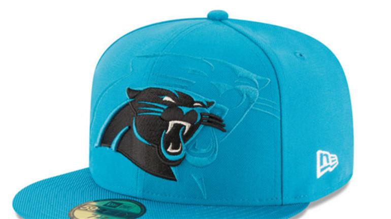 New Era reveals 2016 Carolina Panthers sideline hat - CBSSports.com 6f308e5d002