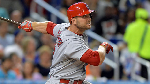 Cardinals put 1B Adams on DL; OF Grichuk recalled