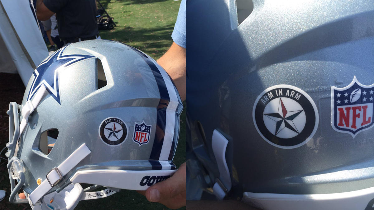 8c1602e7 NFL won't let Cowboys wear decals supporting Dallas police in ...