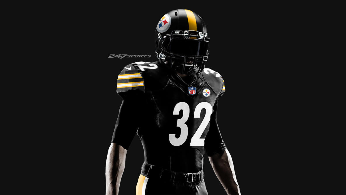 huge selection of 5432c 4014f Report: Steelers to wear all-black 'Color Rush' uniforms vs ...