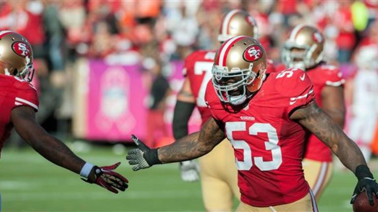 finest selection f7a29 04b52 WATCH: NaVorro Bowman goes undercover at 49ers team store ...