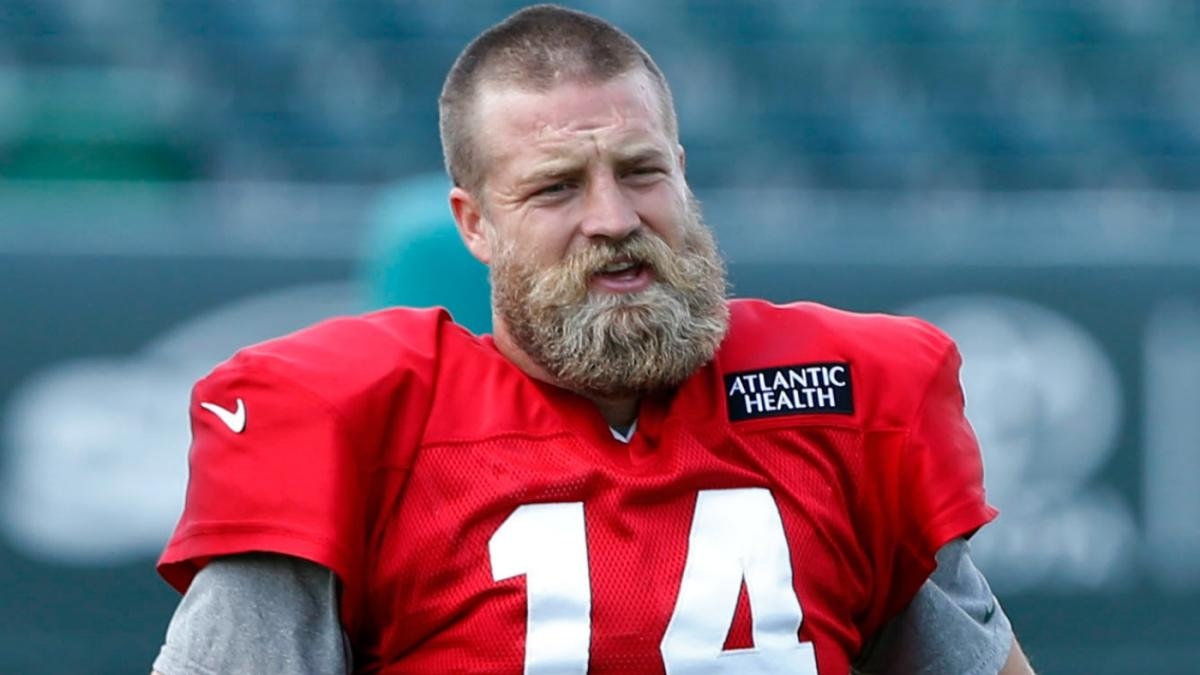 new arrival 965a3 52541 Ryan Fitzpatrick had the oddest offseason job before signing ...
