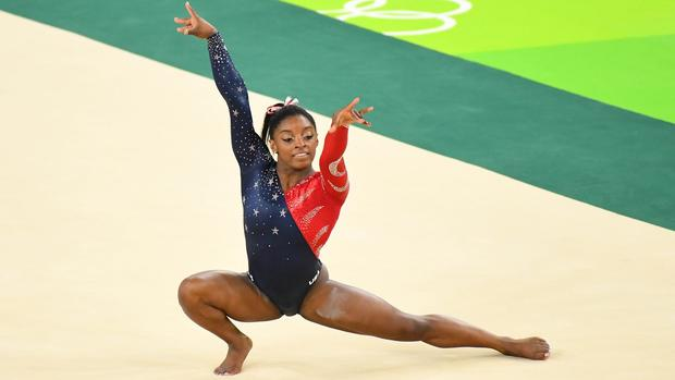 Olympics-Gymnastics-Left in the dust, rivals bow to Biles