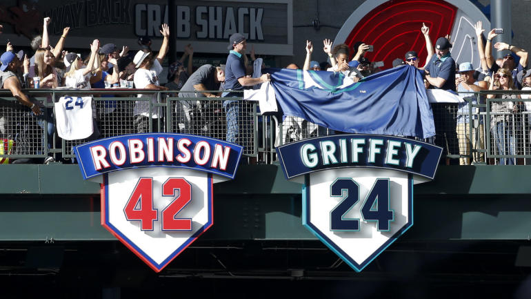 Mariners retire Junior's number, and a statue for Griffey ...