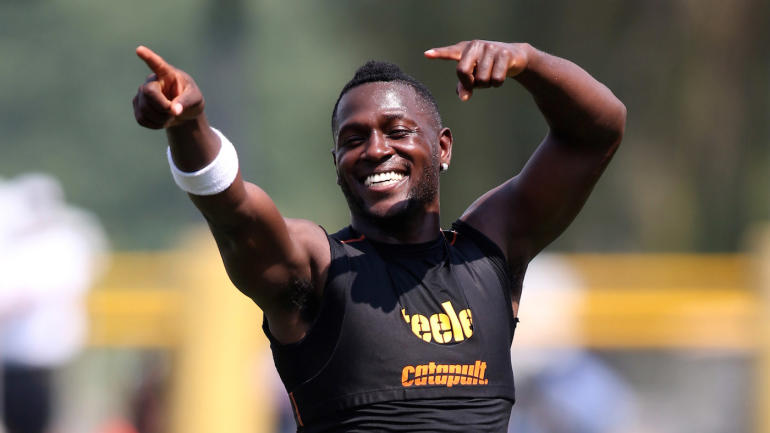 Antonio Brown Gets 4m Raise After Steelers Restructure