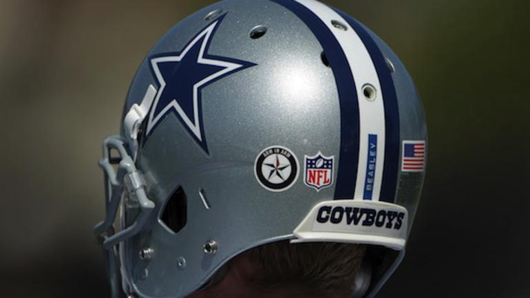 c795ce21 NFL slams door on Cowboys' Arm in Arm helmet decals - CBSSports.com