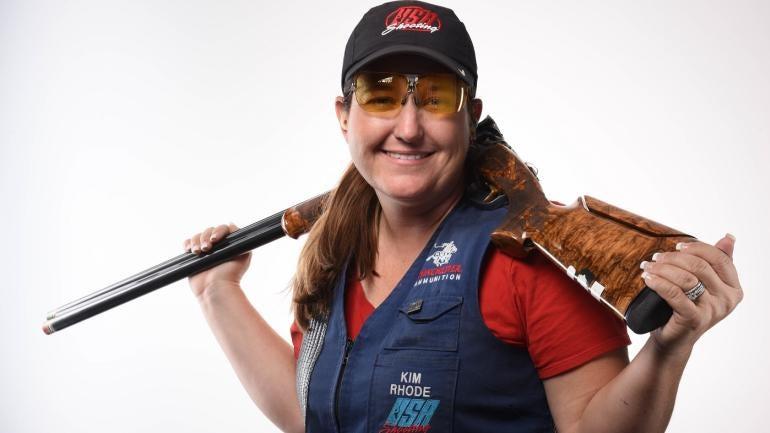 Rio Olympics: American shooter Kim Rhode makes history ...