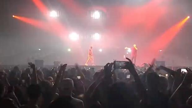 Watch Drake Bring Out LeBron James at Columbus Concert