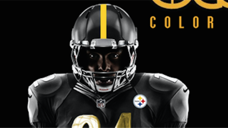 8aa93a27331 Check out the Pittsburgh Steelers Christmas Day jersey concept ...