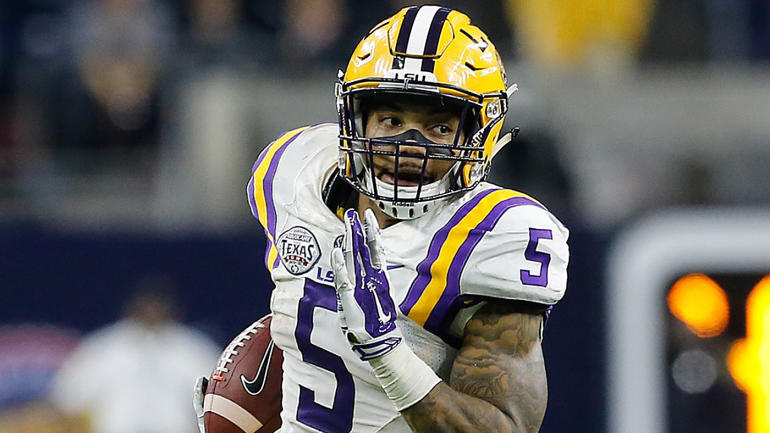 Guice, a sophomore, will ease the sting of Leonard Fournette's exodus
