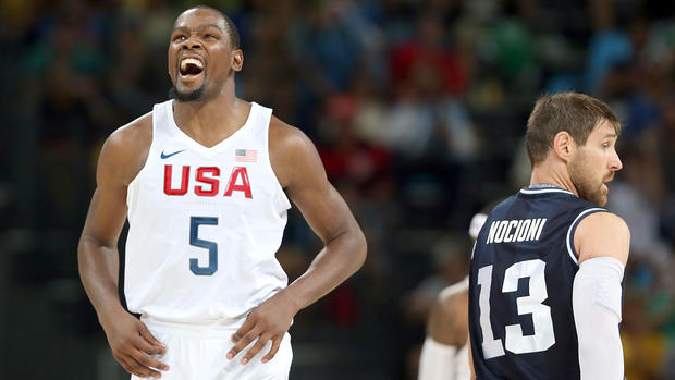 Draymond Green, Team USA crush Argentina for trip to Olympic semis
