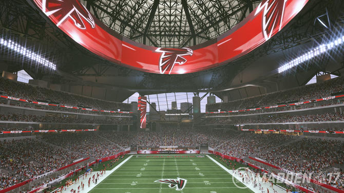 Watch Here 39 S A 39 Madden 39 Virtual Tour Of Falcons 39 New