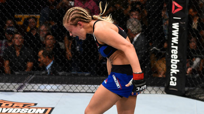 Paige VanZant's next fight will headline UFC Fight Night event in Sacramento