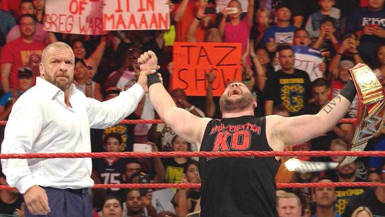 Raw shocker: Triple H helps Kevin Owens win WWE Universal Championship - CBSSports.com