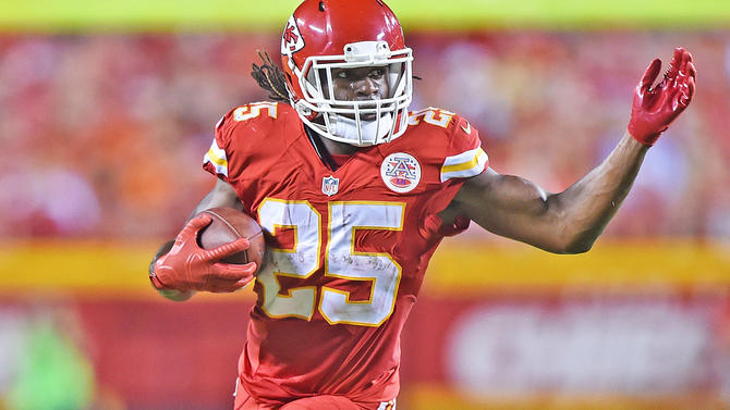 Chiefs' Reid says Jamaal Charles still iffy for opener