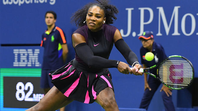 Serena Reigns Over King On Home Court