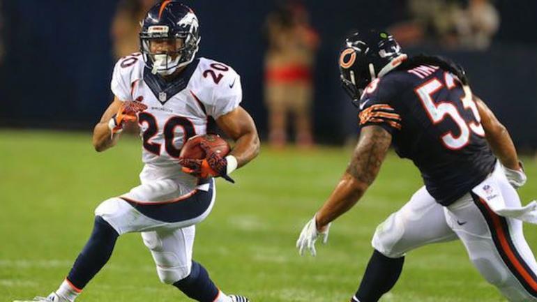 newest 82faa af724 Broncos RB Devontae Booker snatches Hillman's jersey number ...
