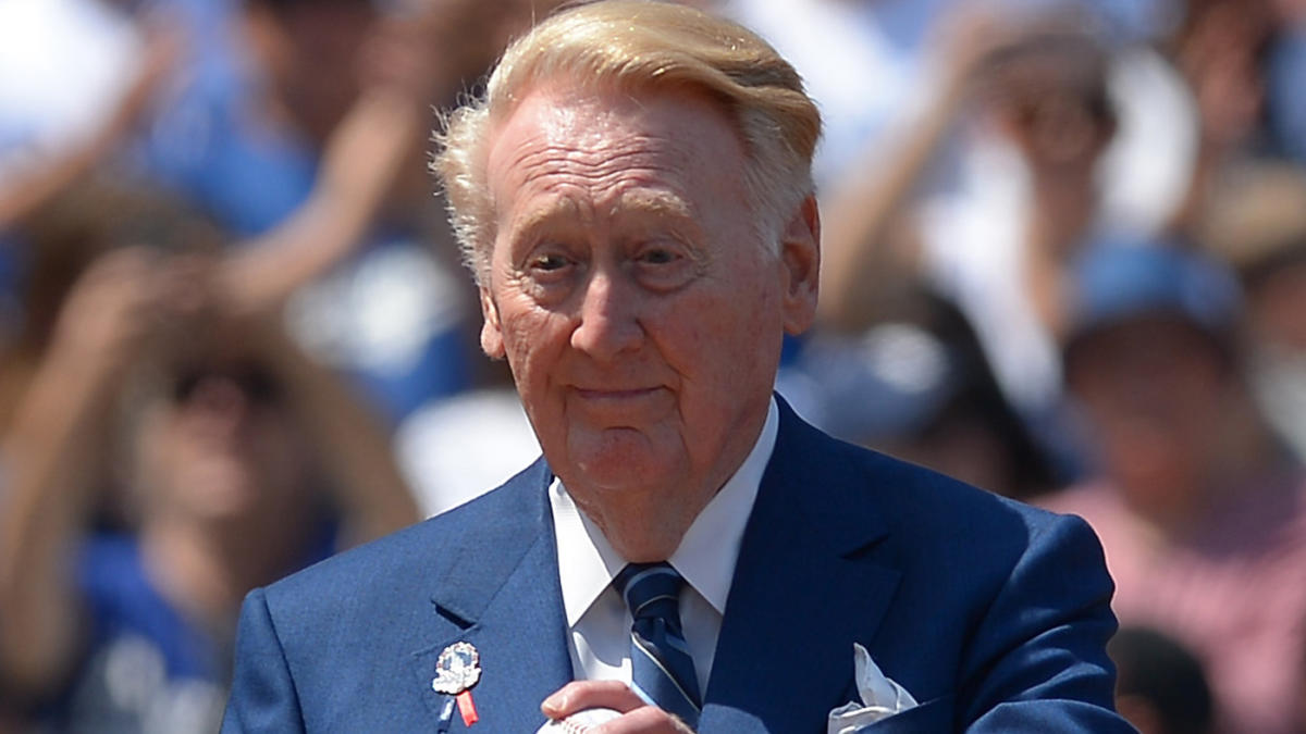 LOOK: Here's possibly the first mention of Vin Scully's hiring by the Dodgers