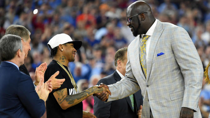Iverson: I'll thank haters in Hall of Fame speech, too