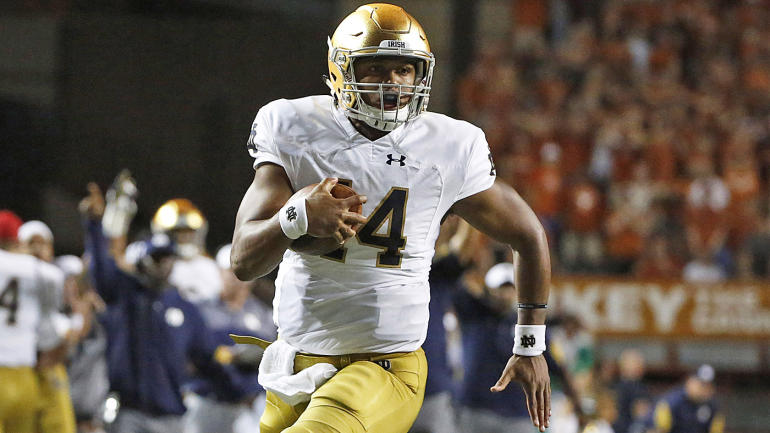 vegas odds college football notre dame game today score