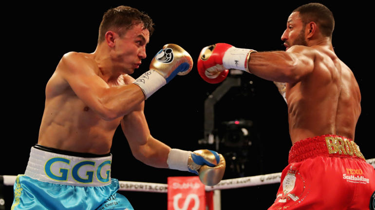 GGG vs. Kell Brook results: Golovkin scores TKO after Brook's corner throws in towel - CBSSports.com