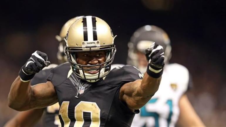 005f7c816 New Orleans Saints wide receiver Brandin Cooks is a big fan of the Saints  recently revealed Color Rush jerseys