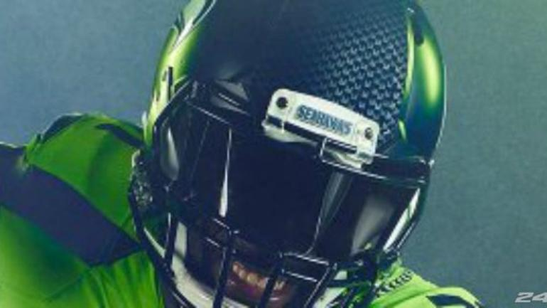 Seattle Seahawks reveal new Color Rush jersey - CBSSports com