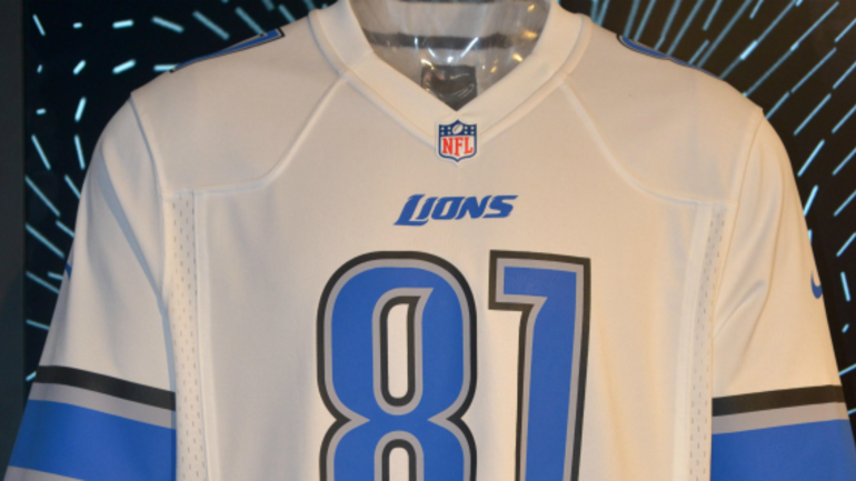 promo code f2afb ea8d6 Detroit Lions reveal Color Rush jersey, won't wear in 2016 ...