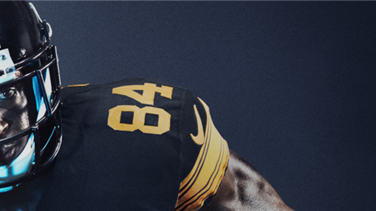 Pittsburgh steelers reveal official 2016 color rush jerseys