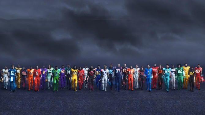 520d6e8da LOOK  NFL unveils super-bright Color Rush uniforms for all 32 teams ...