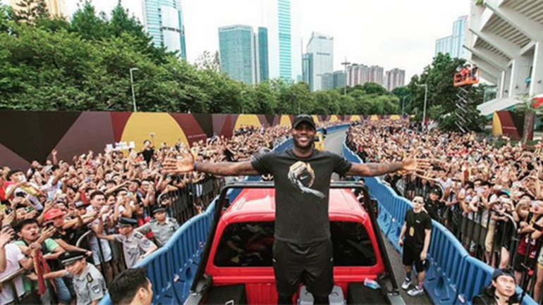 2a50e9b2bff64 Thousands of fans attend parade in LeBron James  honor in China ...