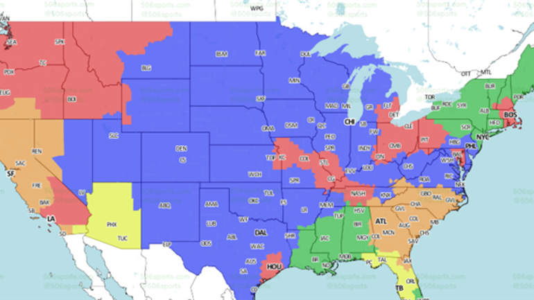 Coverage Map: Will you see 49ers @ Panthers? - CBSSports.com